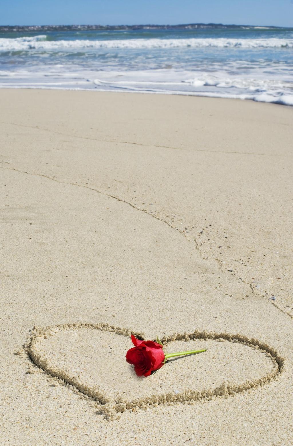 romantisch strand