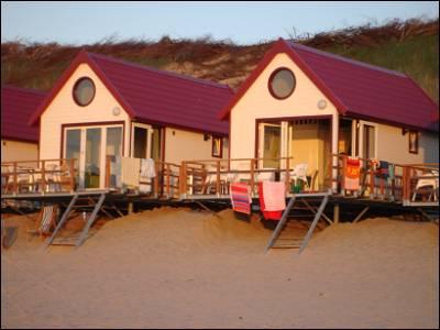 huisje aan het strand