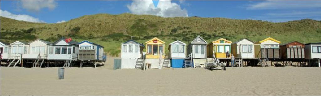 Strandhuisje dishoek bij vlissingen zeeland holidays oo for Design hotel zeeland